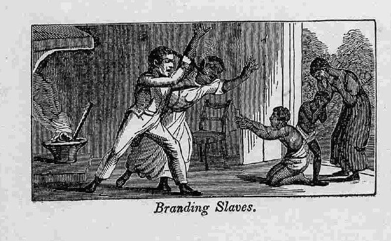 Branding Slaves 1840