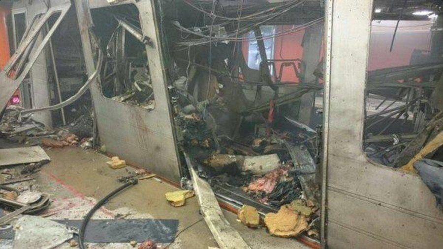 Brussels Metro Explosion