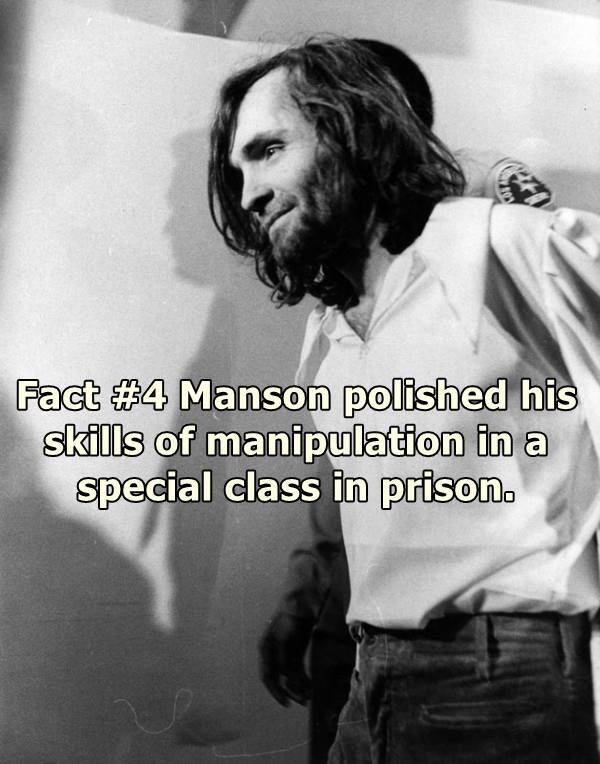 Charles Manson In Court