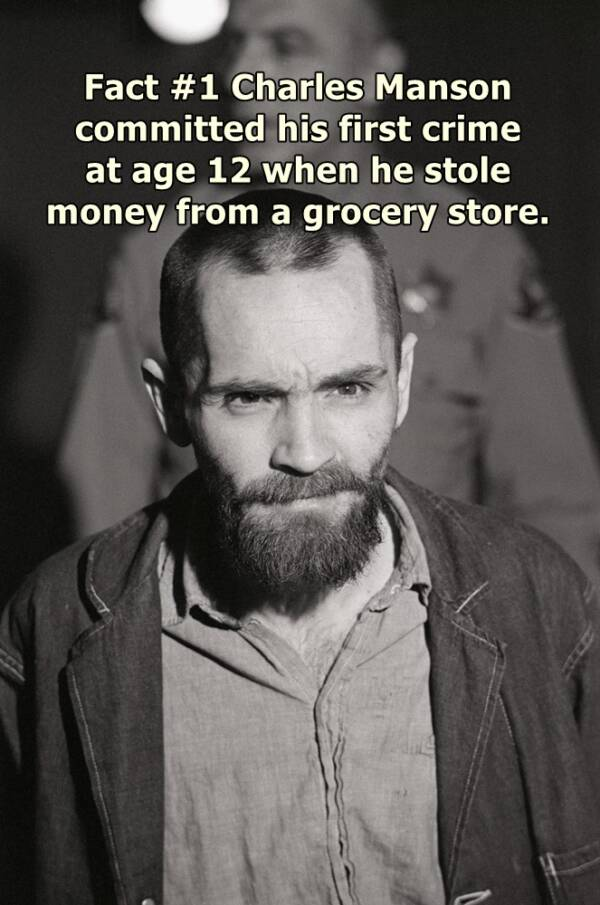 Charles Manson Facts About His Childhood