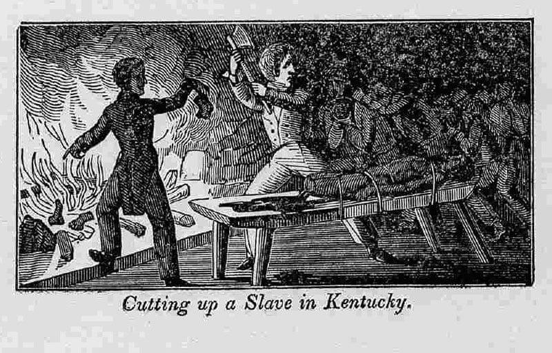 Cutting Slaves 1840
