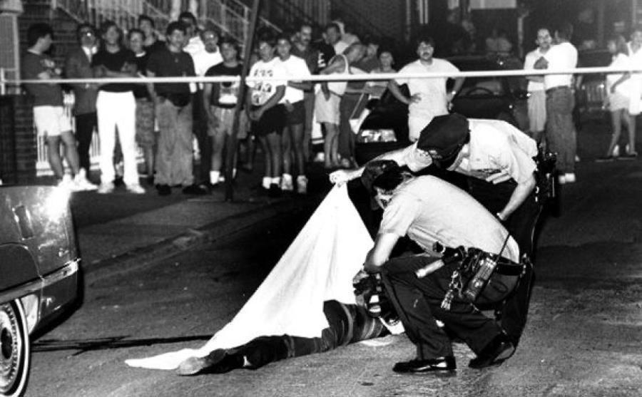 Edward Garofalo Murder Scene