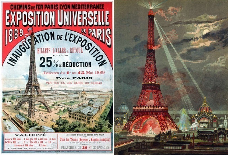 Eiffel Tower Facts Exposition