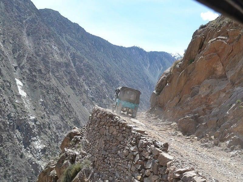 Fairy Meadows Nanga Parbat Road Pakistan Truck