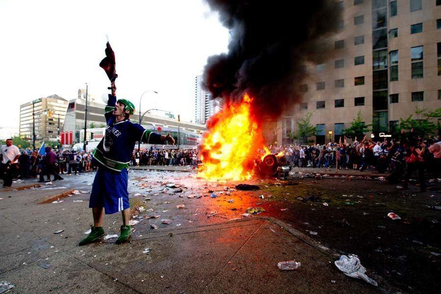 Historical Strange Riots