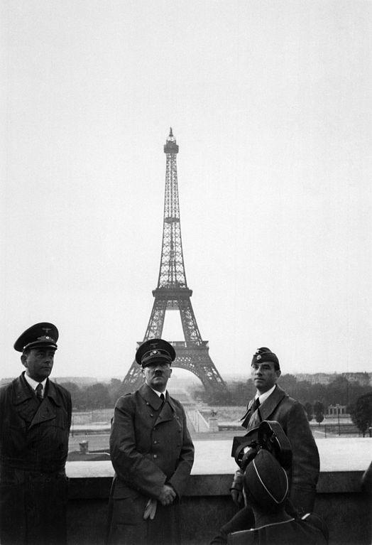 Hitler Eiffel Tower