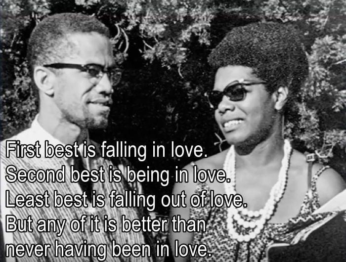 Maya Angelou On Falling In Love