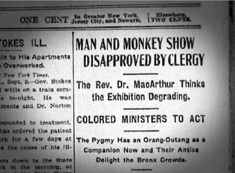 Monkey Show Newspaper