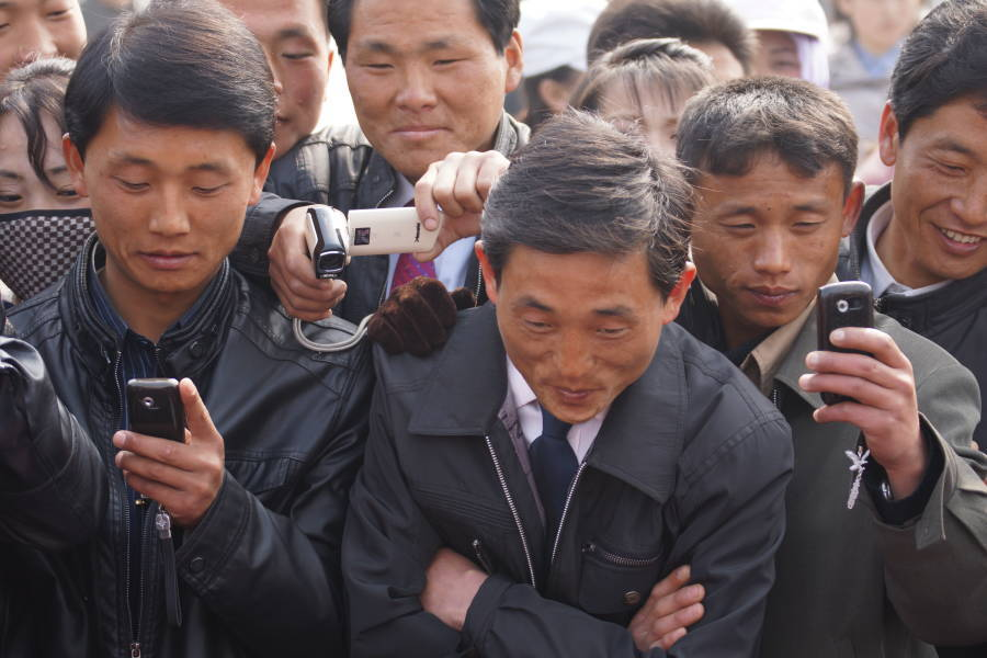 North Korea Cell Phones