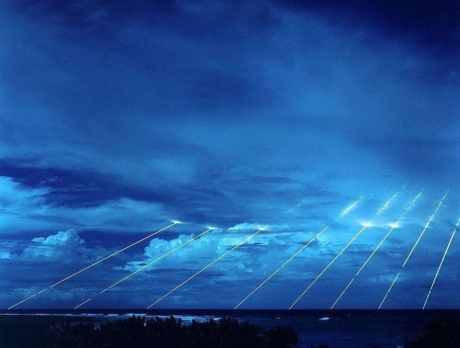 Peacekeeper Missile Test