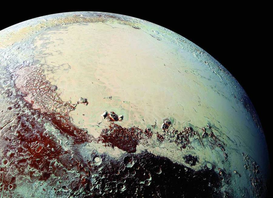 Pluto Surface Colors