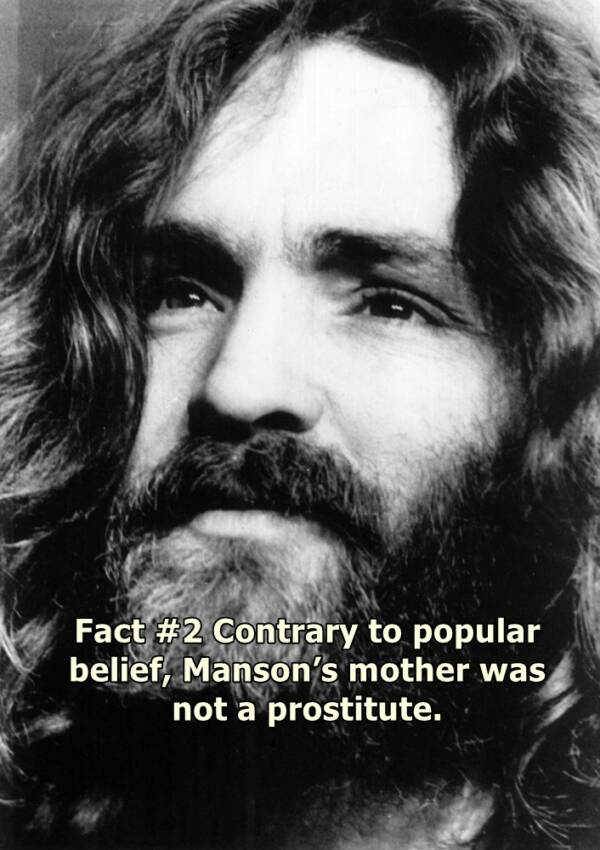 Portrait Of Charles Manson
