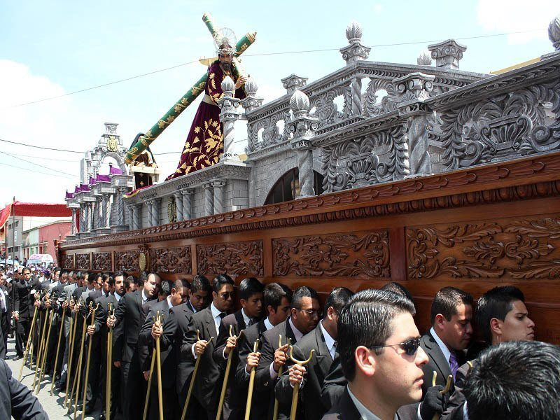 Guatemala City, Semana Santa Procession