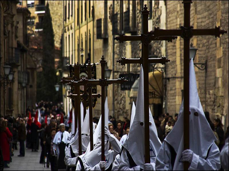 Procession Salamanca