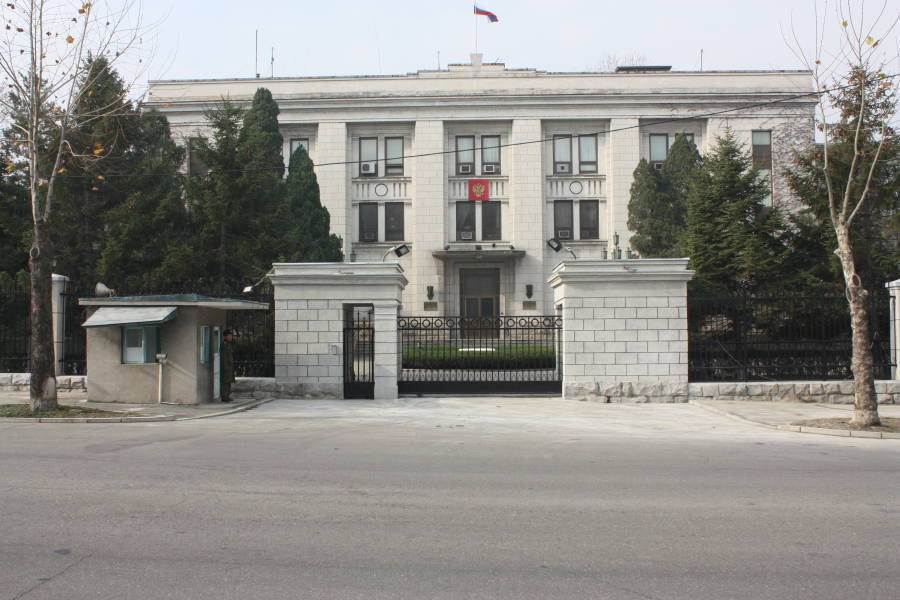 Russian Embassy North Korea