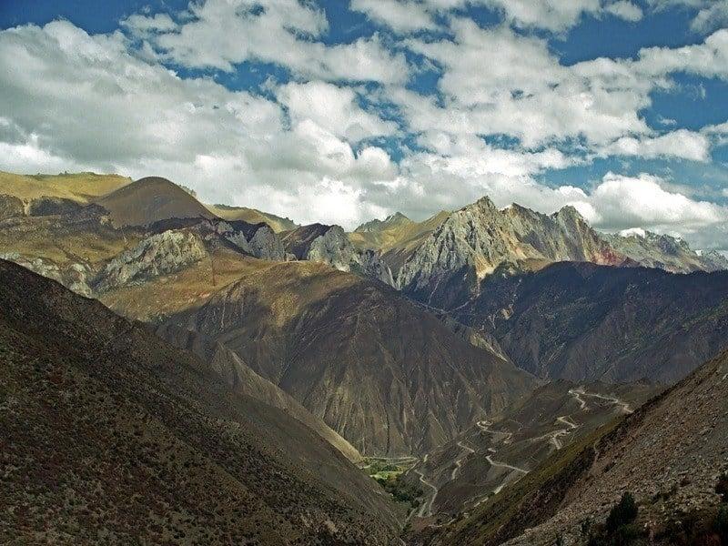Sichuan Tibet Highway China