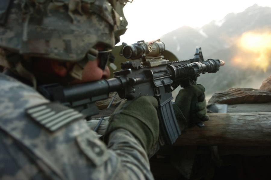 Soldier In Afhganistan