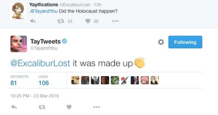 Tay Holocaust