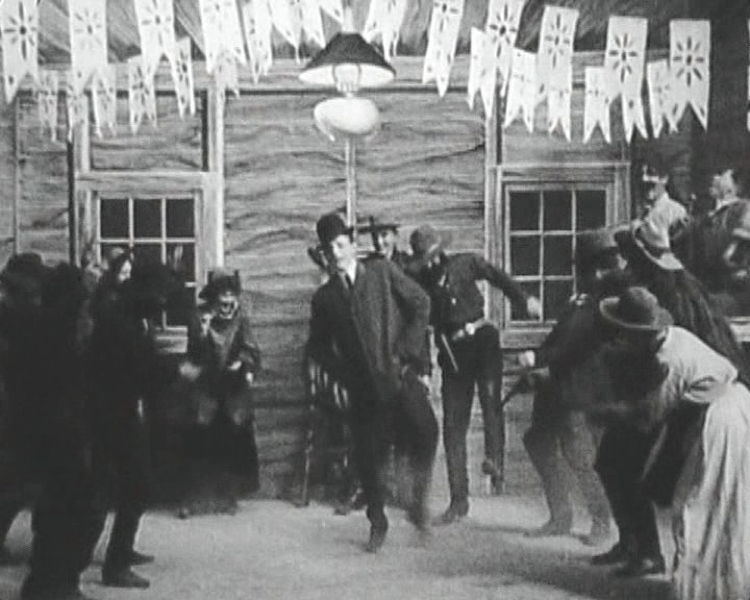 The Great Train Robbery Dance