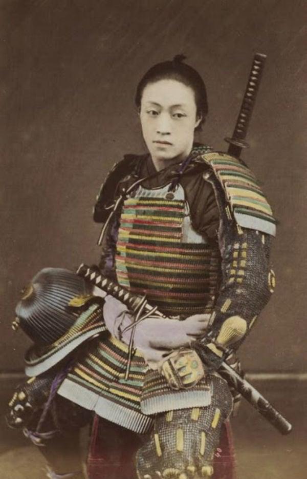 Vintage Japan Samurais
