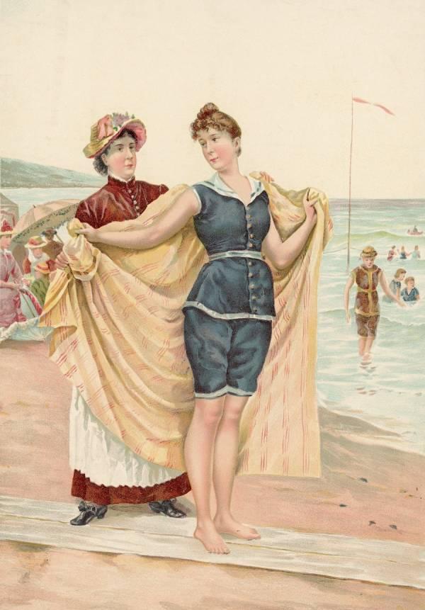Old fashion bikini