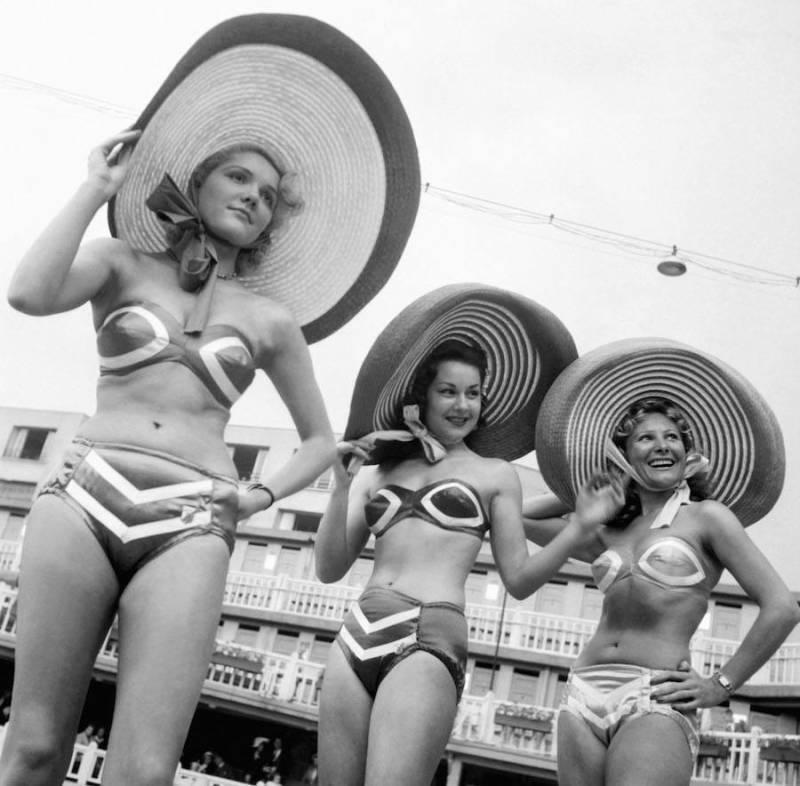 hats bikini
