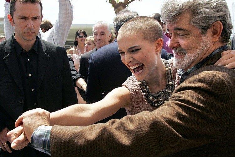Natalie Portman George Lucas
