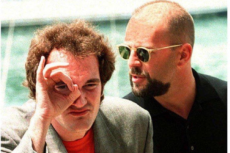 Quentin Tarantino Bruce Willis