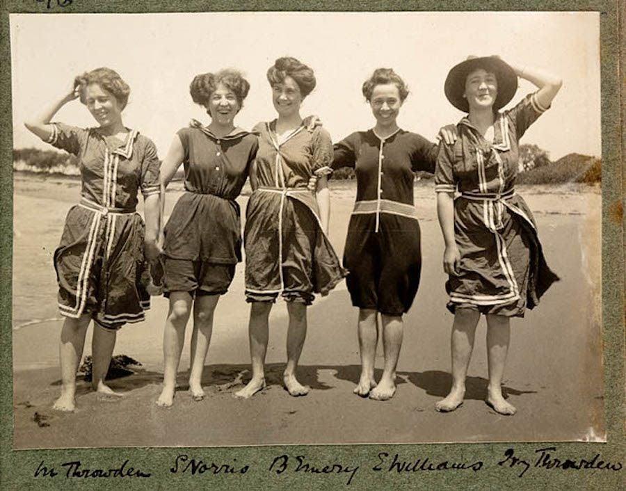bathing suits vintage