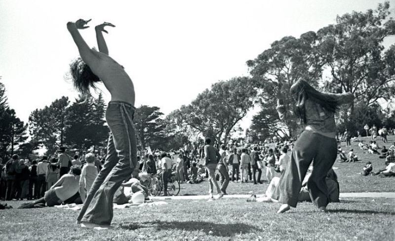 Dancing In Golden Gate Park 1967