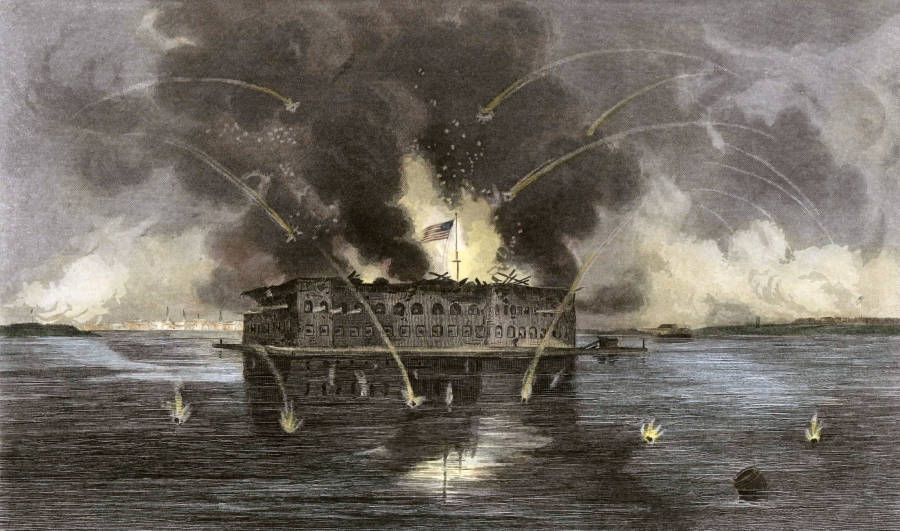 Fort Sumter Battle