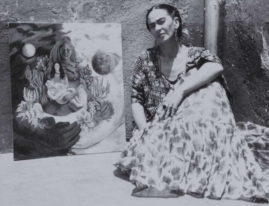 Frida And Her Universe Painting