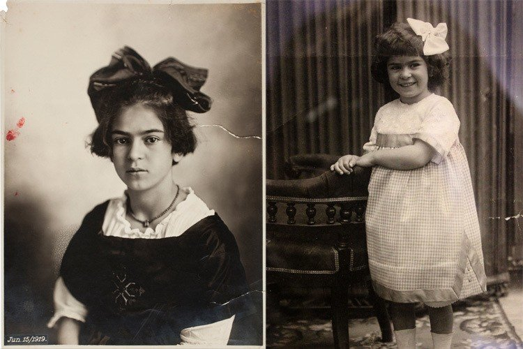 Frida Kahlo Photos Childhood