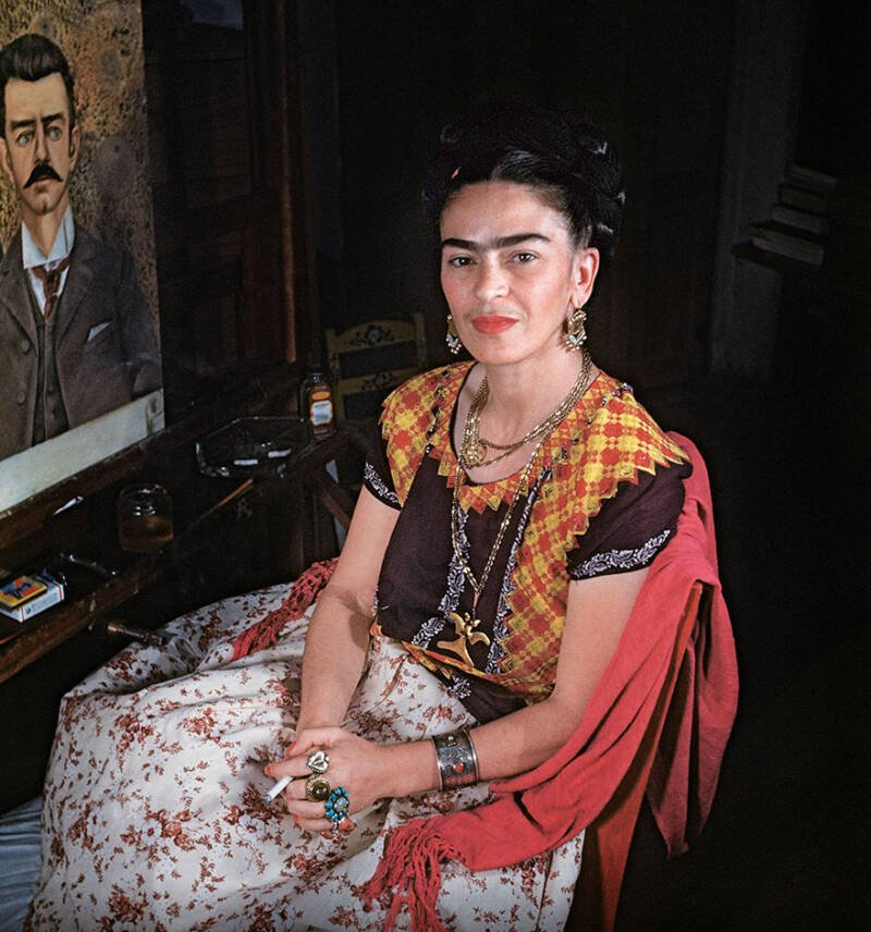 Frida Painting Guillermo