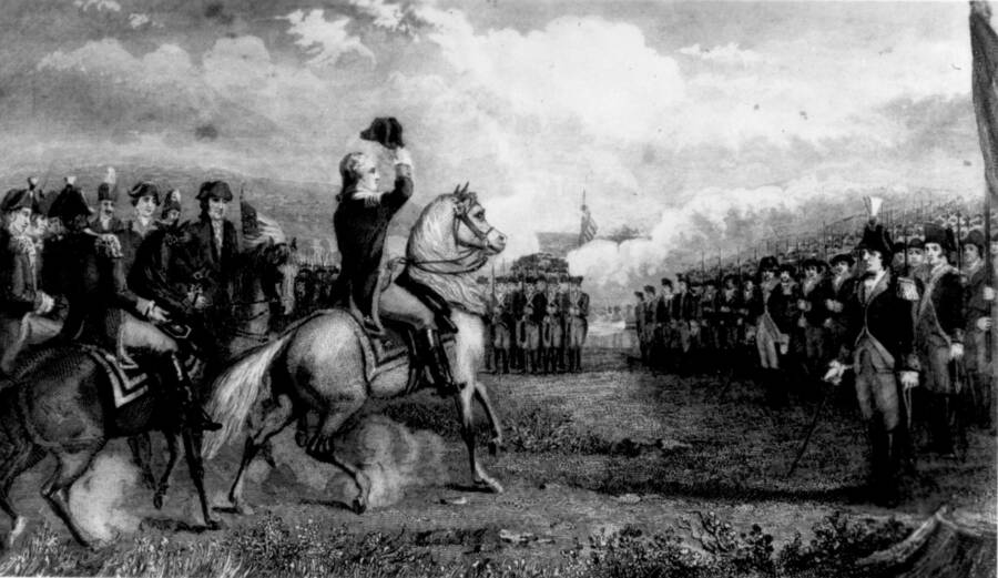 George Washington Commanding Army