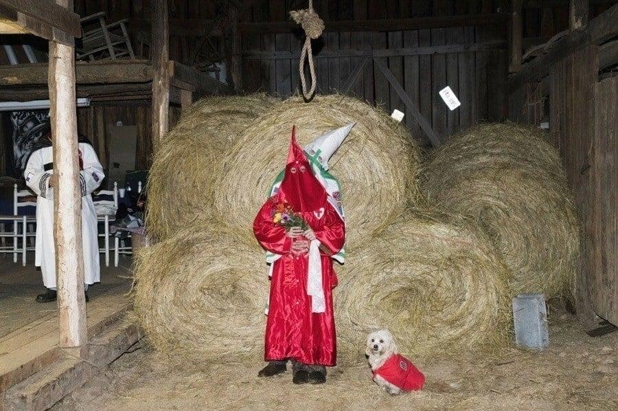Kkk Red Robe Dog