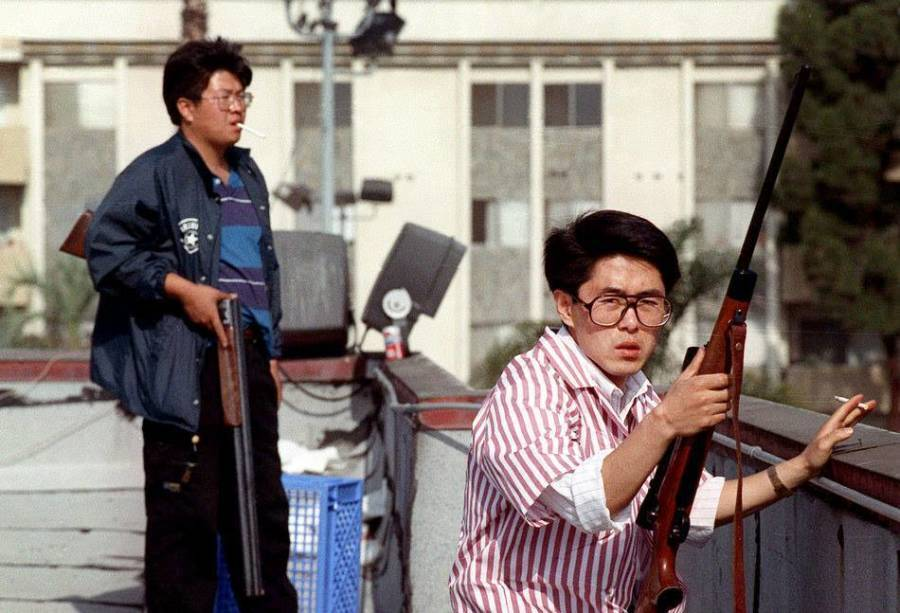 Korean Shop Owners During La Riots