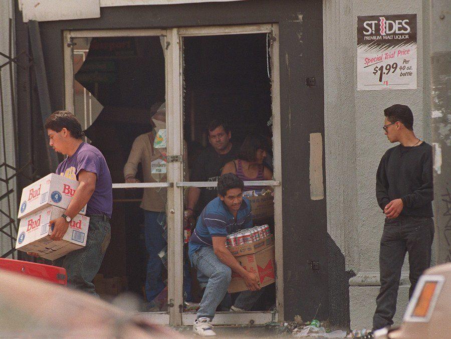 Liquor Store Looters