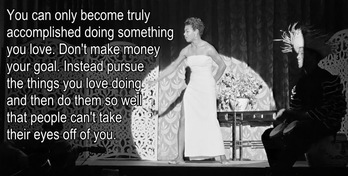Maya Angelou On Achieving Your Goals