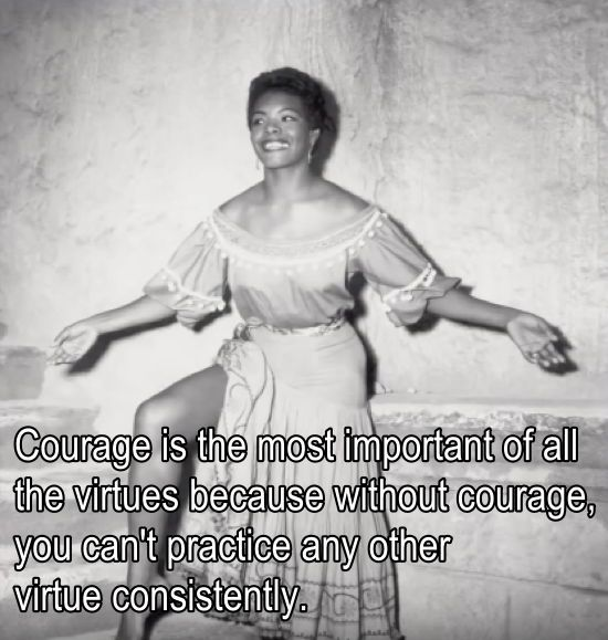 Courage As A Virtue