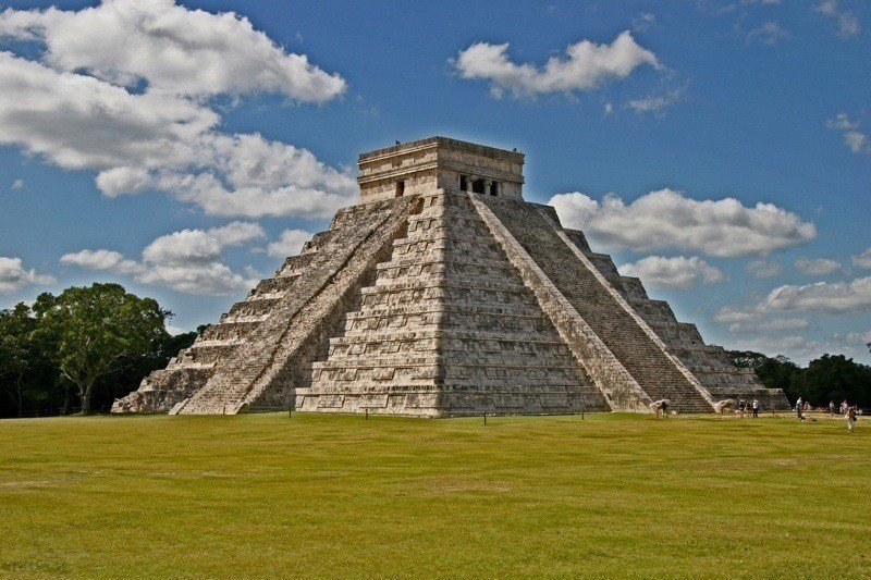 Mayan Temple Pyramid Today