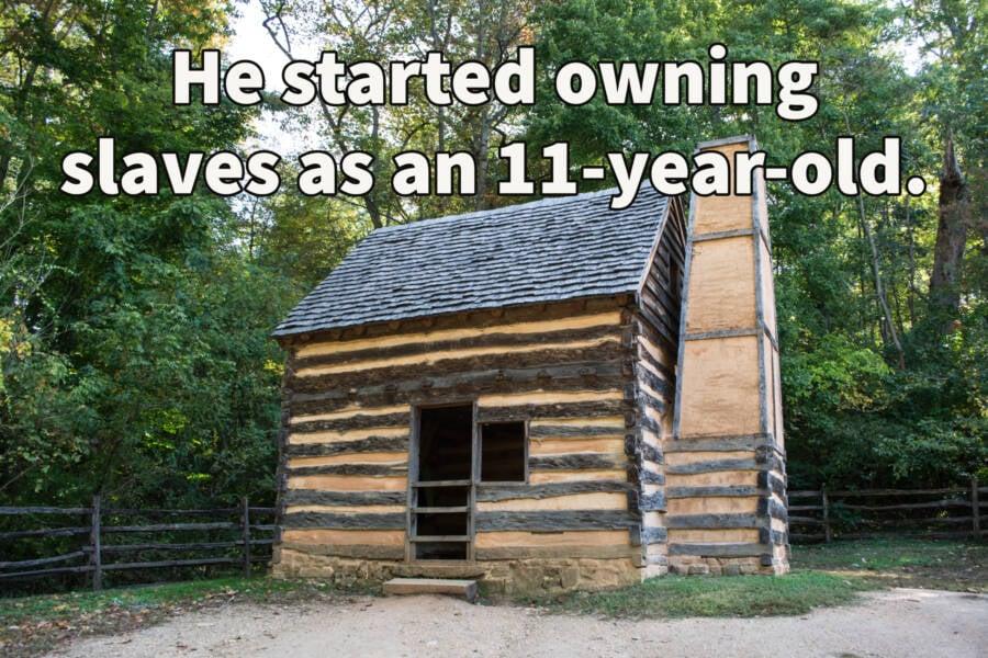 Mount Vernon Slave Cabin