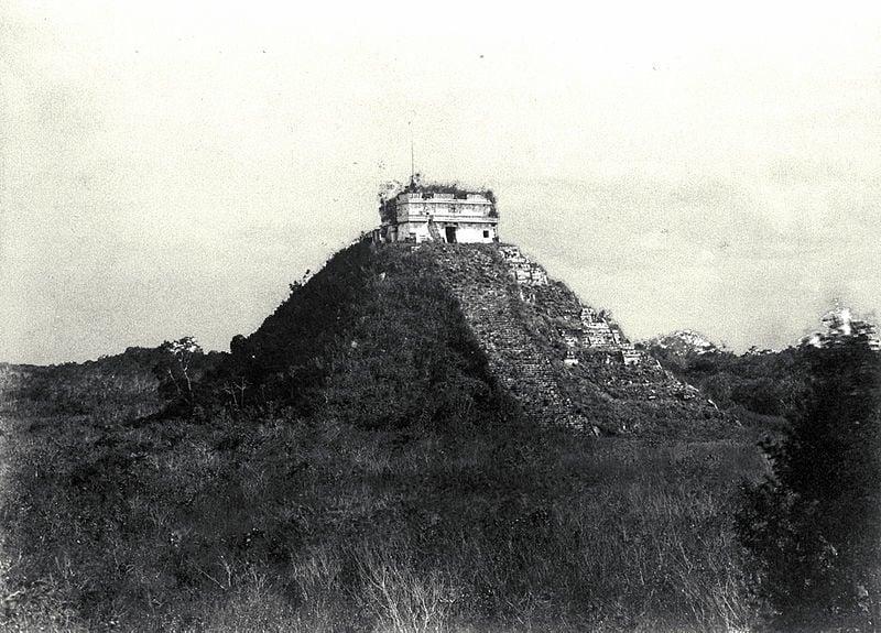 El Castillo In 1892