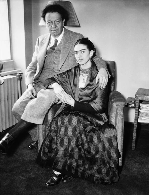 Portrait Of Frida And Diego