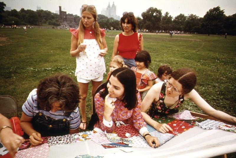 Quilting Bee Central Park