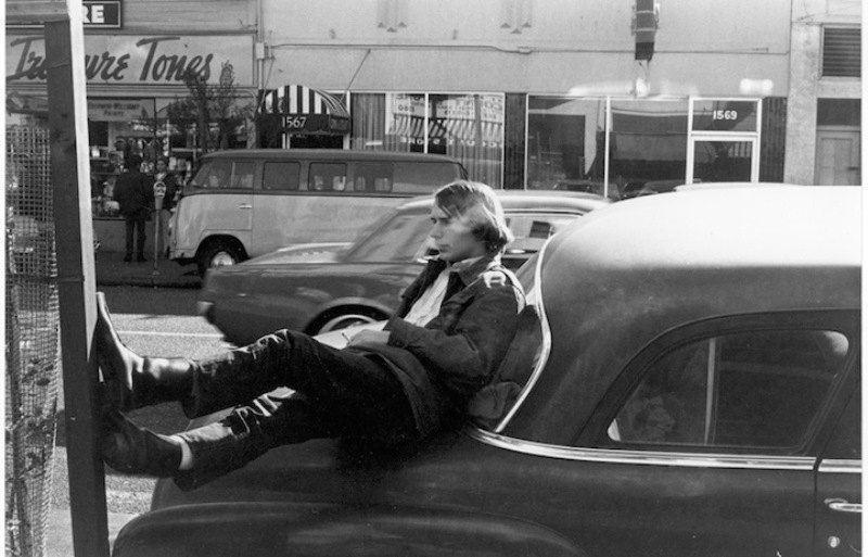 Resting On A Car
