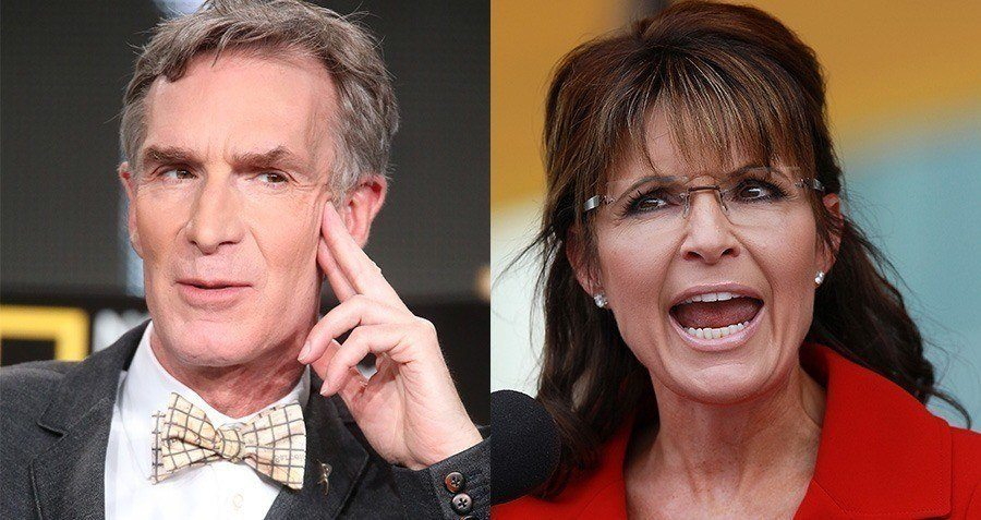 Sarah Palin Bill Nye