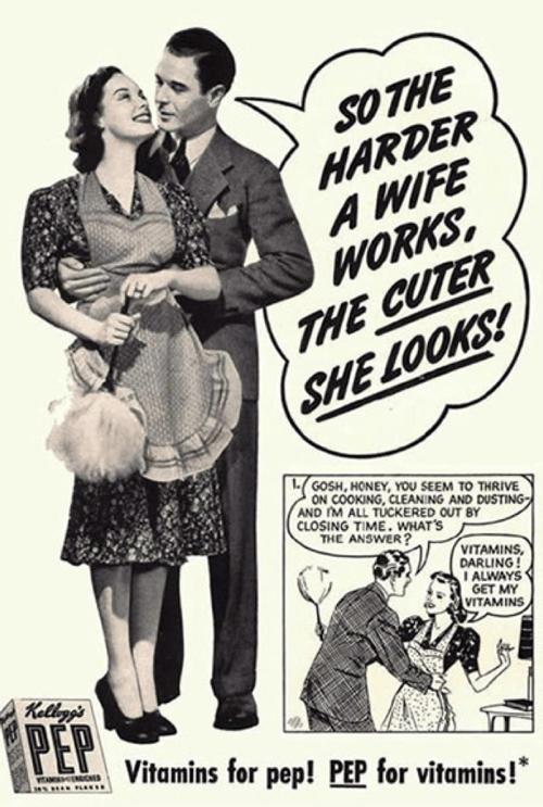 Sexist Vintage Ad Pep