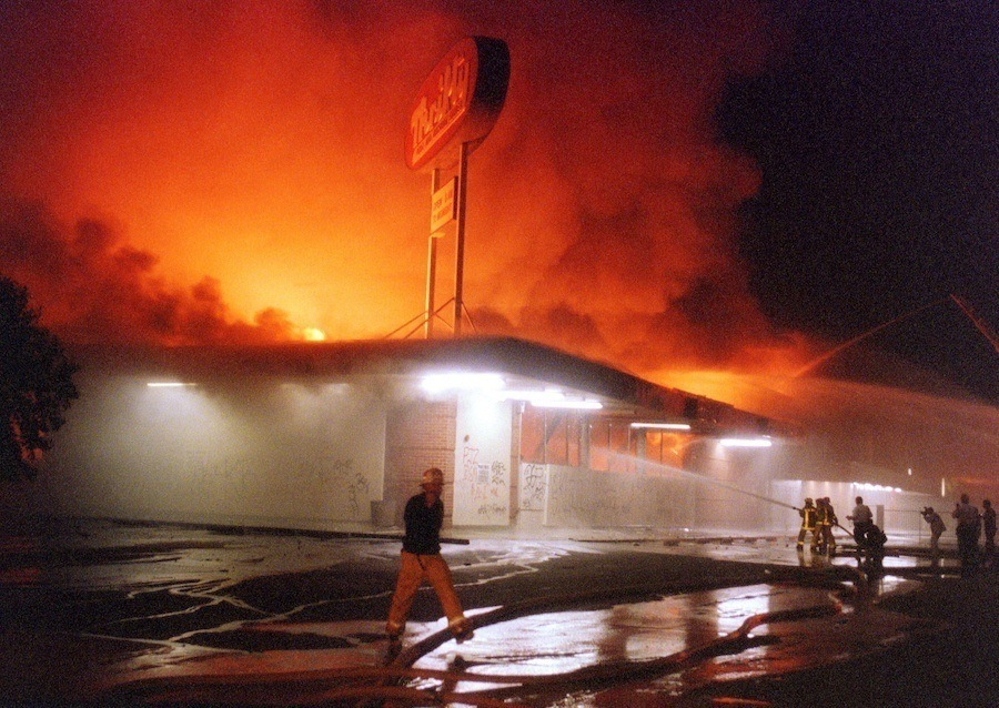 Store Fire