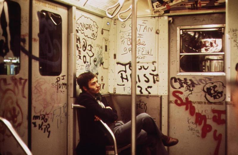 Subway Car 1973